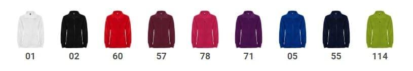 Bluza polarowa damska PIRINEO różne kolory