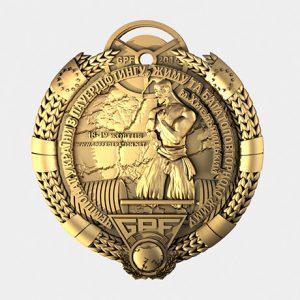 Medale grawerowane