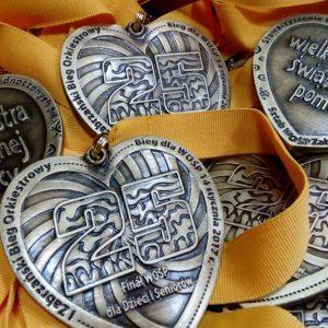 Medale - WOŚP (przykład)
